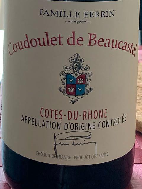 Famille Perrin Coudoulet de Beaucastel Côtes du Rhône Rouge