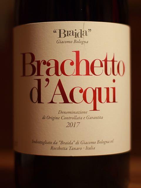 Braida Giacomo Bologna Brachetto d'Acqui