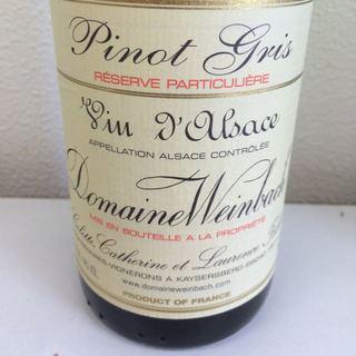 Dom. Weinbach Pinot Gris Réserve Particulière