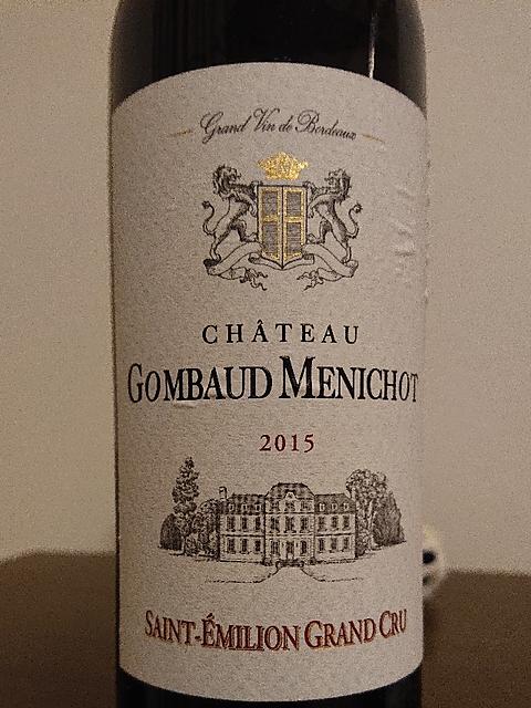 Ch. Gombaud Menichot(シャトー・ゴンボード・メニショ)