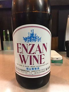 Enzan Wine 一升 赤