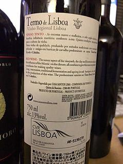 Termo de Lisboa Tinto