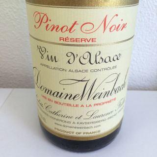 Dom. Weinbach Pinot Noir Réserve