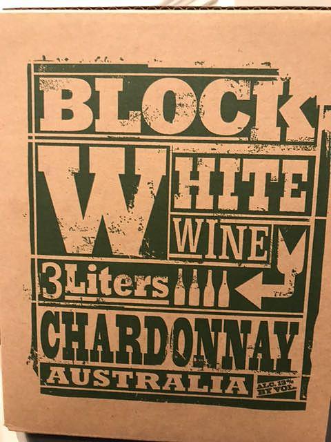 Block White Wine Chardonnay(ブロック・ホワイト・ワイン シャルドネ)