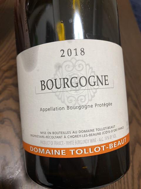 Dom. Tollot Beaut Bourgogne Blanc(ドメーヌ・トロ・ボー ブルゴーニュ ブラン)