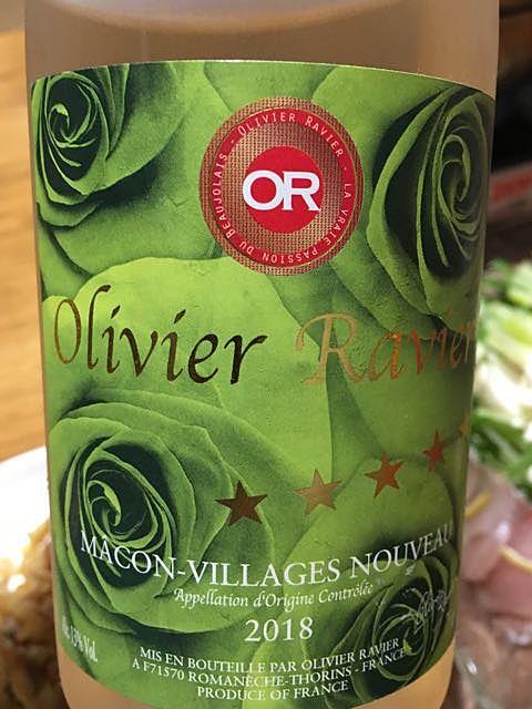 Olivier Ravier Mâcon Villages Nouveau