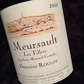 Dom. Roulot Meursault Tillets