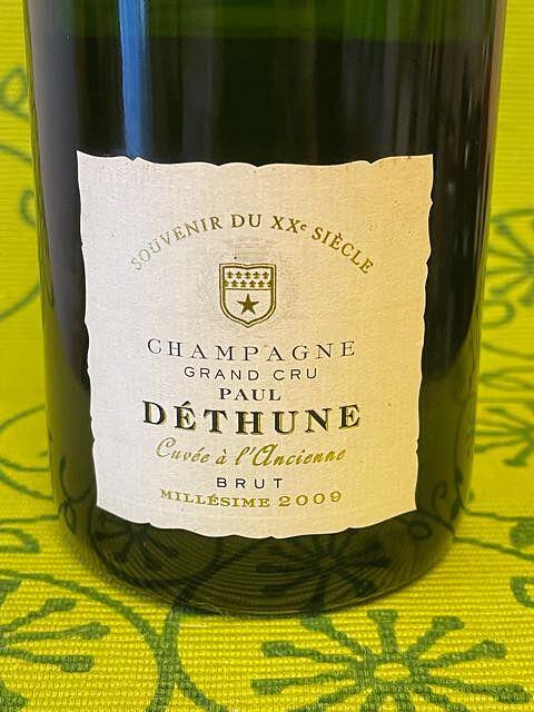 Paul Déthune Brut Cuvée à l'Ancienne(ポール・デテュンヌ ブリュット キュヴェ・ア・ランシエンヌ)