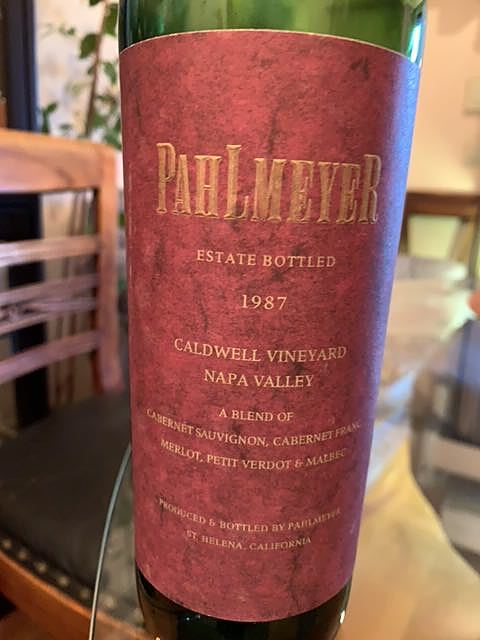 Pahlmeyer Caldwell Vineyard Red