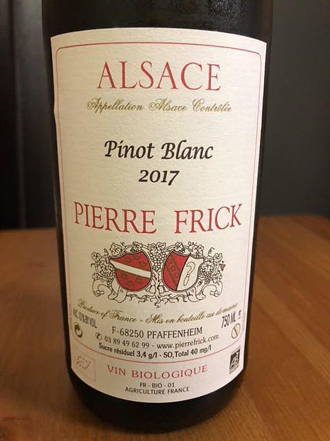 Pierre Frick Pinot Blanc