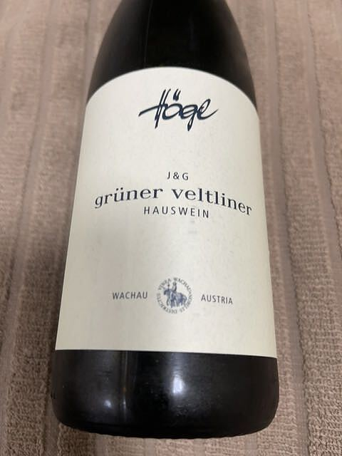 Högl J&G Grüner Veltliner Hauswein(ヘーグル グリューナー・ヴェルトリーナー)