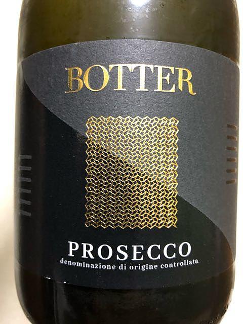 Botter Prosecco Spumante Extra Dry(ボッター プロセッコ スプマンテ エクストラ・ドライ)