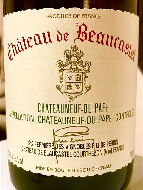 Ch. de Beaucastel Châteauneuf du Pape Blanc