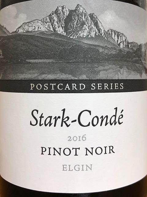 Stark Condé Postcard Series Elgin Pinot Noir