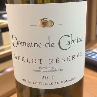 Dom. de Cabriac Merlot Réserve