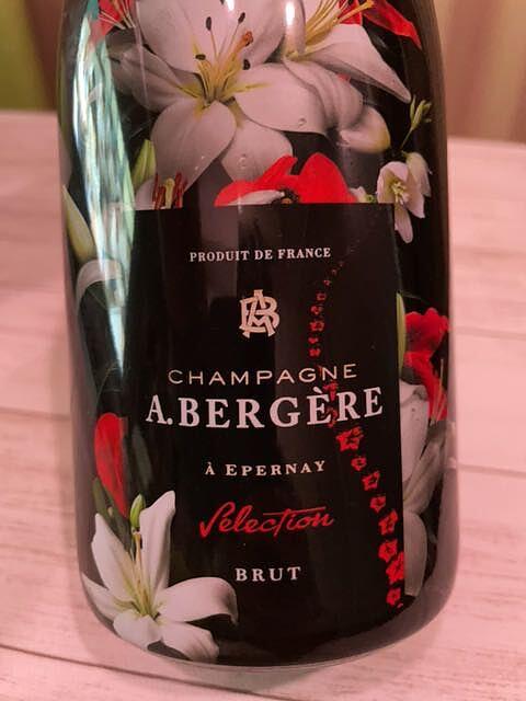 A. Bergere Selection Brut Cuvée Fleur (Flower)(アンドレ・ベルジェール セレクション ブリュット キュヴェ・フルール)