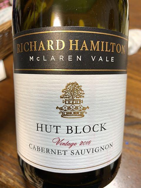 Richard Hamilton Hut Block Cabernet Sauvignon