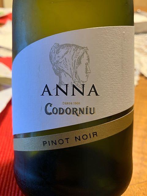 Anna de Codorníu Pinot Noir Blanc de Noirs