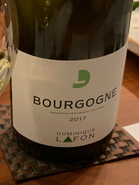 Dominique Lafon Bourgogne Blanc(ドミニク・ラフォン ブルゴーニュ ブラン)