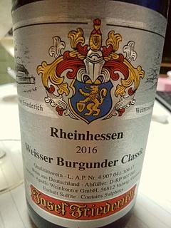 Josef Friederich Weisser Burgunder Classic