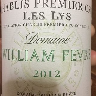Dom. William Fèvre Chablis 1er Cru Les Lys