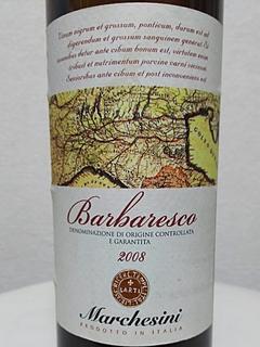 Marchesini Barbaresco(マルケシニ バルバレスコ)