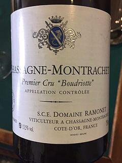 Dom. Ramonet Chassagne Montrachet 1er Cru Boudriotte Blanc