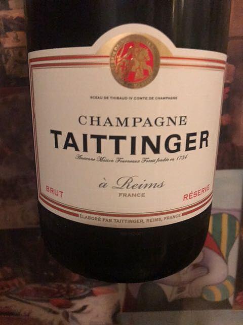 Taittinger Brut Réserve(テタンジェ ブリュット レゼルヴ)