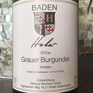 Bernhard Huber Grauer Burgunder Trocken