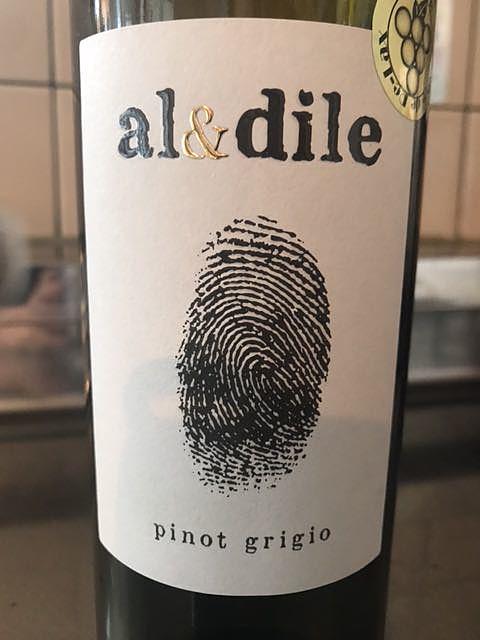 al&dile Pinot Grigio(アルエディレ ピノ・グリージョ)