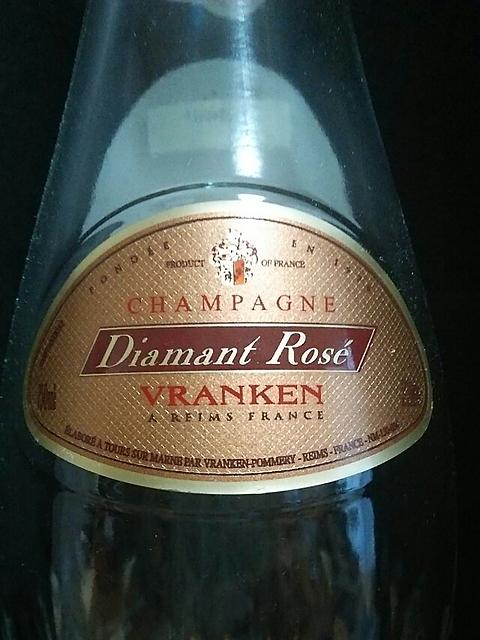 Vranken Diamant Rosé Brut