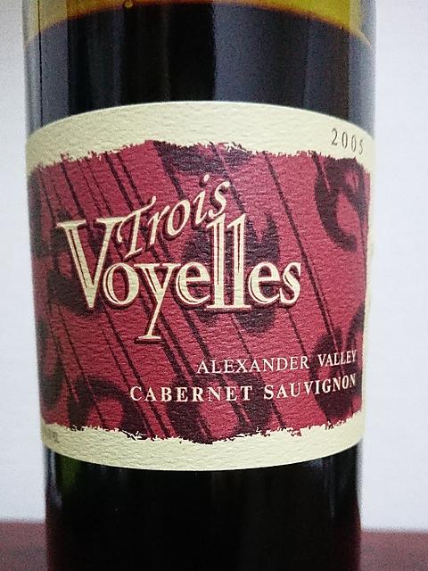 Trois Voyelles Cabernet Sauvignon(トロワ・ヴォワイエル カベルネ・ソーヴィニヨン)