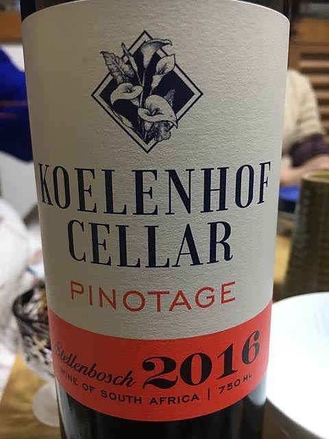 Koelenhof Cellar Pinotage