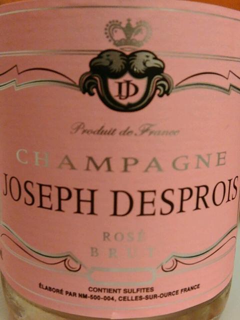 Joseph Desprois Rosé Brut(ジョセフ・デプロワ ロゼ ブリュット)