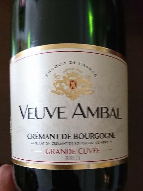 Veuve Ambal Crémant de Bourgogne Grande Cuvée Brut