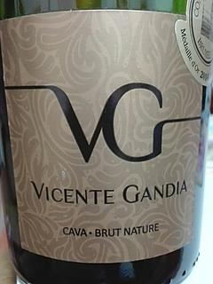 Vicente Gandia Cava Brut Nature(ビセンテ・ガンディア カバ ブルット・ナトゥーレ)