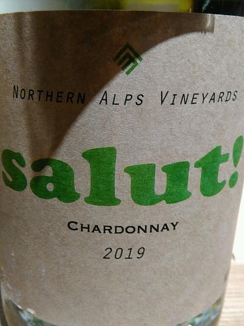 Northern Alps Vineyards Salut! Chardonnay(ノーザンアルプスヴィンヤード サリュー シャルドネ)