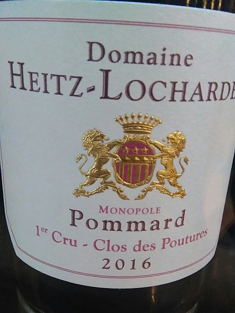 Dom. Heitz Lochardet Pommard 1er Cru Clos des Poutures Monopole