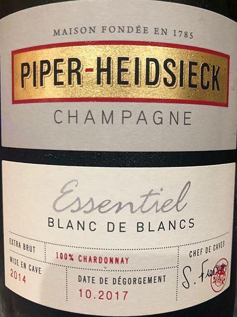Piper Heidsieck Essentiel Blanc de Blancs(パイパー・エドシック エッセンシャル ブラン・ド・ブラン)