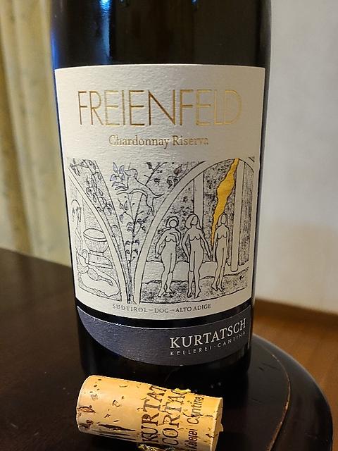 Kurtatsch Freienfeld Chardonnay Riserva(クルタッシュ フラウエンフェルト シャルドネ リゼルヴァ)