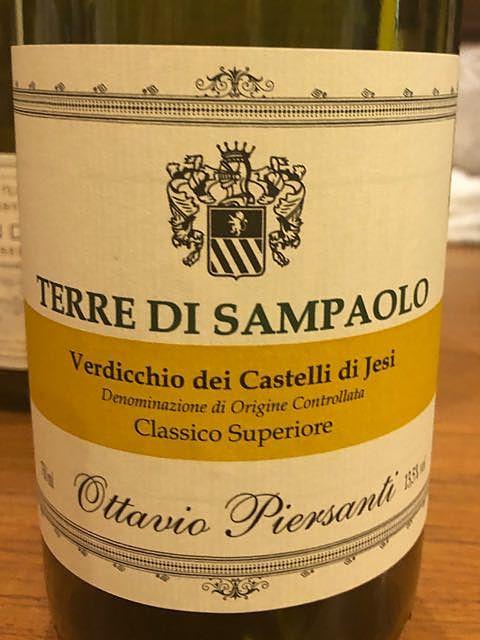 Piersanti Terre di Sampaolo Verdicchio Classico Superiore(ピエールサンティ テッレ・ディ・サンパオロ ヴェルディッキオ クラッシコ・スペリオーレ)