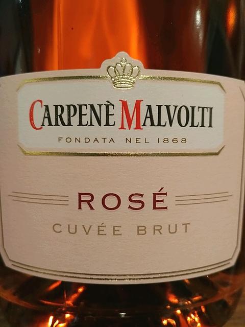 Carpenè Malvolti Rosé Cuvée Brut