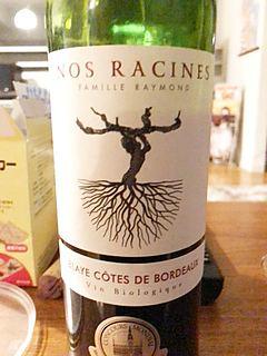 Nos Racines Blaye Côtes de Bordeaux(ノ・ラシーヌ ブライ コート・ド・ボルドー)