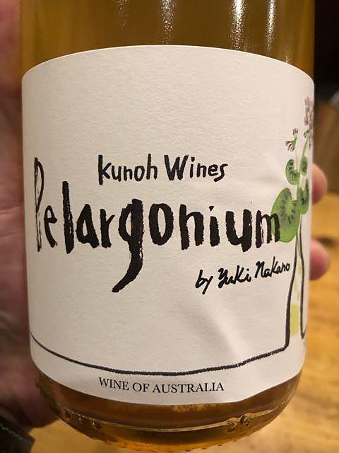 Kunoh Wines Pelargonium