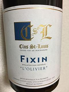 Clos St Louis Fixin l'Olivier