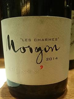 Jean Foillard Morgon Les Charmes Eponym