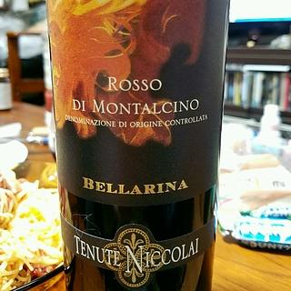 Tenute Niccolai Bellarina Rosso di Montalcino(テヌータ・ニコライ ベッラリーナ ロッソ・ディ・モンタルチーノ)