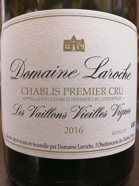 Dom. Laroche Chablis 1er Cru Les Vaillons Vieille Vignes