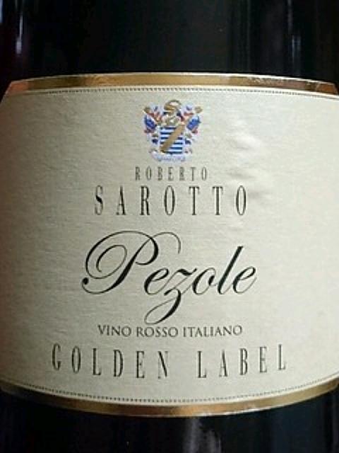 Roberto Sarotto Pezole Golden Label(ロベルト・サロット ペツォーレ ゴールデン・ラベル)