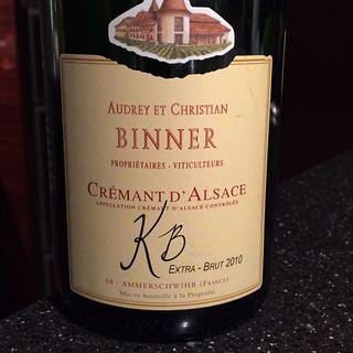Binner Crémant d'Alsace KB 2010(ビネール クレマン・ダルザス)
